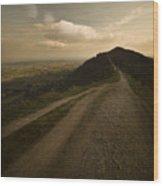 The Malvern Hills Wood Print