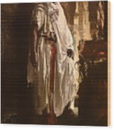 The Moorish Chief Wood Print