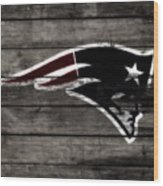 The New England Patriots 3a Wood Print