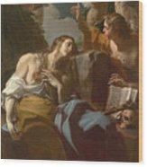 The Penitent Magdalen Wood Print