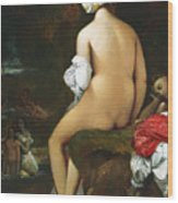 The Small Bather Wood Print