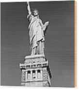 The Statue Of Liberty Wood Print