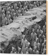 The Terracotta Army Wood Print