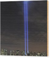 The Tribute In Light Memorial Wood Print