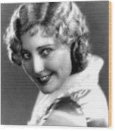 Thelma Todd, Portrait Ca. 1935 Wood Print