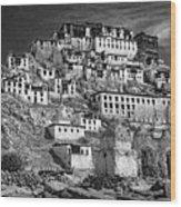 Thiksey Monastery Wood Print