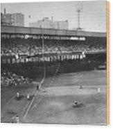 Thomson Home Run, 1951 Wood Print