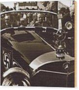 Tom Barrett And Family  High Bidder  Earl Clark At $153,000 Of Adolf Hitlers Mercedes Benz 770k Wood Print