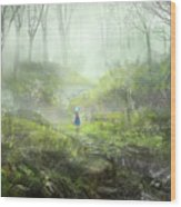 Touhou Wood Print