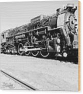 Train Engine #2732 Wood Print