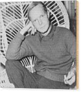 Truman Capote 1924-1984, Southern Wood Print