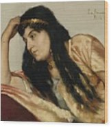 Turkish Woman Wood Print