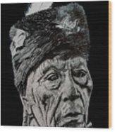 Unknown Indian IIi Wood Print