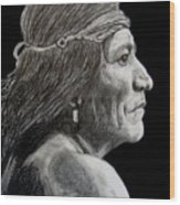 Unknown Indian VI Wood Print
