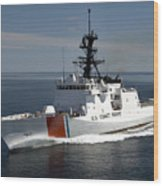 U.s. Coast Guard Cutter Waesche Wood Print