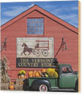 Vermont Country Store Wood Print