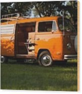 Volkswagen Bus T2 Westfalia Wood Print