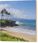 Wailea, Ulua Beach Wood Print