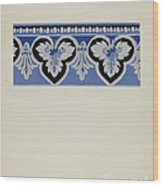 Wall Paper Border Wood Print
