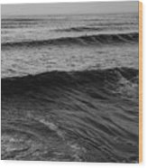 Waves Wood Print