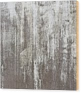 Weathered Metal Wood Print
