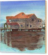West End Roatan Wood Print