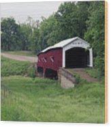 West Union Covered Bridge, Indiana Wood Print