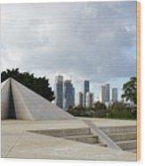 White City Statue, Tel Aviv, Israel Wood Print