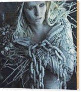 Winter's Sorrow Wood Print