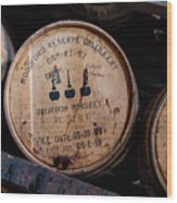 Woodford Reserve Barrels Wood Print