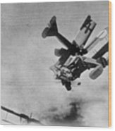 World War I: Aerial Combat Wood Print