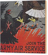 World War I: Air Service Wood Print by Granger