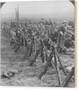World War I: U.s. Troops Wood Print