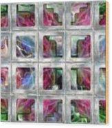 20 Deco Windows Wood Print
