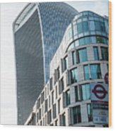 20 Fenchurch Street A Commercial Skyscraper In London Wood Print