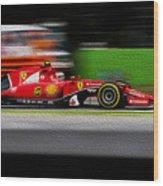 Ferrari Formula 1 Monza Wood Print