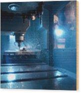 Metalwork Wood Print by Tek Image