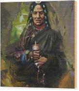 20 Pakistan Folk Gilgit Wood Print