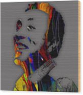 Smokey Robinson Collection Wood Print