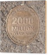 2000 Million Years Ago Wood Print
