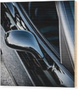 2002 Corvette Ls1 Painted  Wood Print