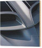 2002 Pontiac Trans Am Hood Vents Wood Print