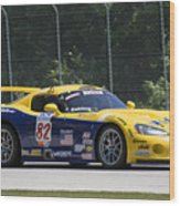2003 Dodge Viper Gts-r At Road America Wood Print