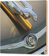 2004 Pt Cruiser Non-standard Hood Ornament Wood Print