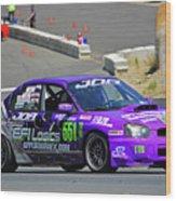 2004 Subaru Wrx Sti Wood Print