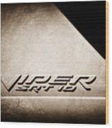 2006 Dodge Viper Srt 10 Emblem -0062s Wood Print
