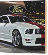 2006 Ford Mustang No 1 Wood Print