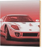 2006 Ford Production Gt Ia Wood Print