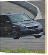 2006 Mitsubishi Evo Wood Print