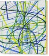 2007 Abstract Drawing 5 Wood Print